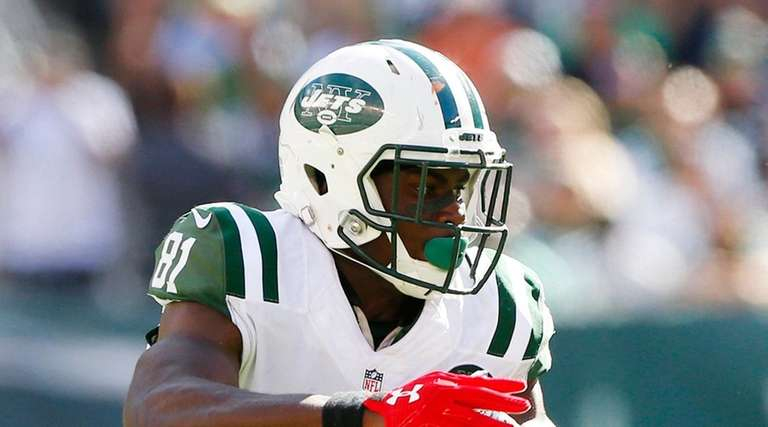 Jets' wide receiver Quincy Enunwa figures to