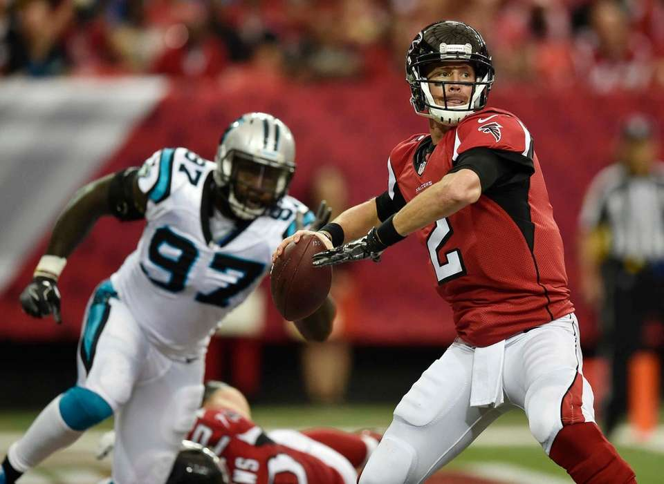 MATT RYAN 503 yards, Oct. 2, 2016Ryan shredded