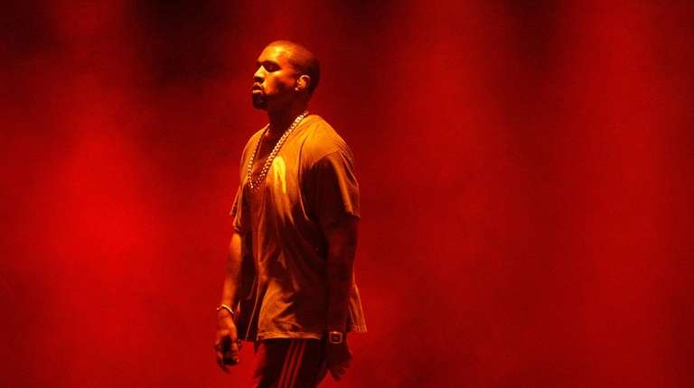 Kanye West performs during The Meadows Music and