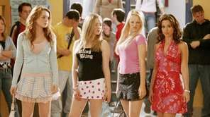 From left, Lindsay Lohan, Amanda Seyfried, Rachel McAdams