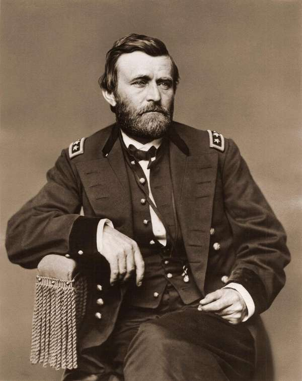 Military commander (and future U.S. president) Ulysses S.