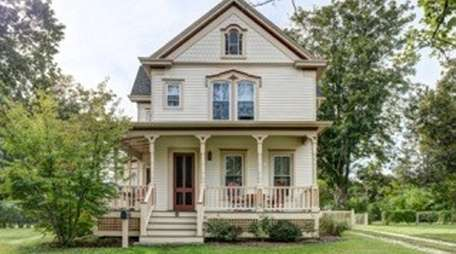 This three-bedroom Victorian on 0.57 acres is in