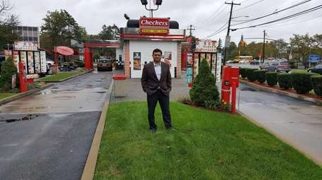 Checkers franchisee Atul Gupta, who owns three locations