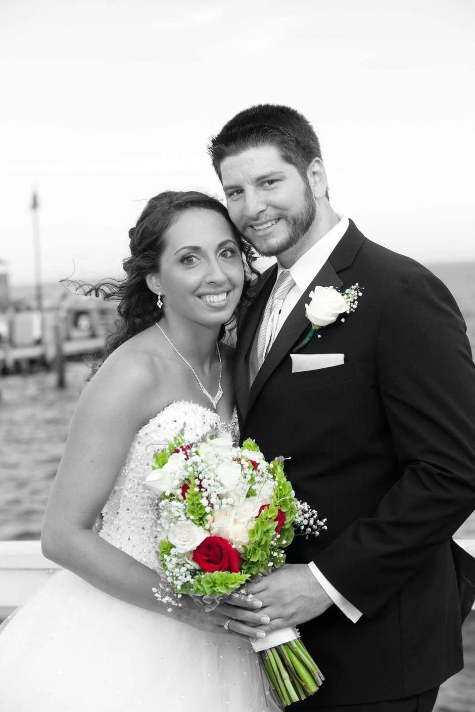 This beautiful picture is from Angela and Jason