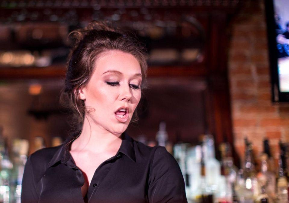 Elizabeth Burke, a featured dancer in the Oak