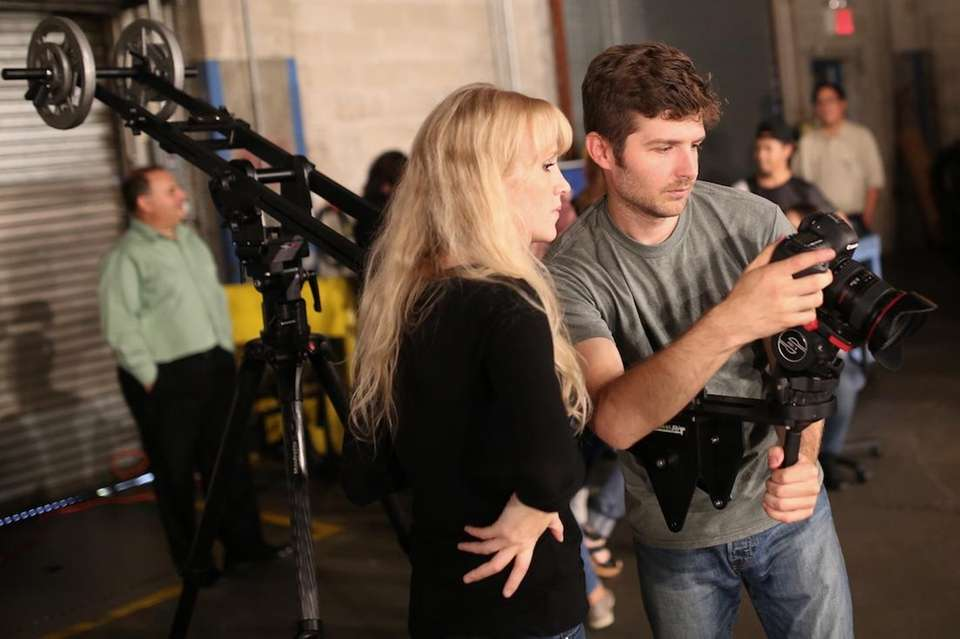 Video editor Raychel Brightman and multimedia producer Jeffrey