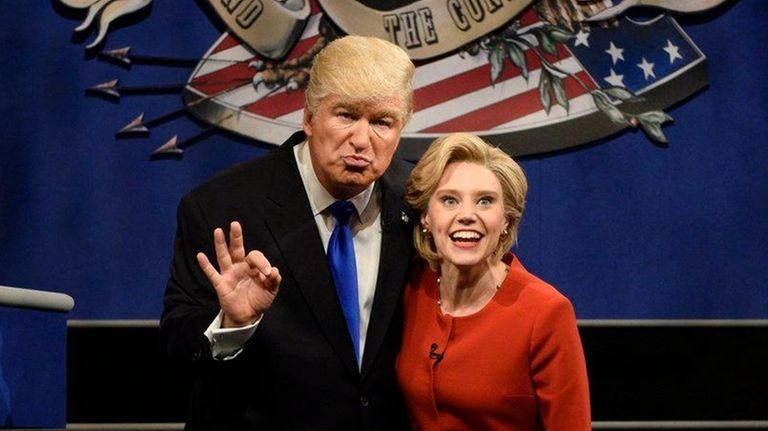 Alec Baldwin as Republican nominee Donald Trump and