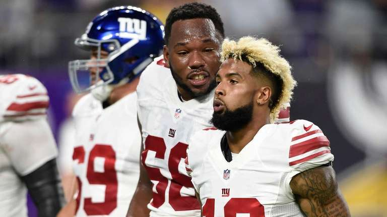 Bobby Hart of the New York Giants and