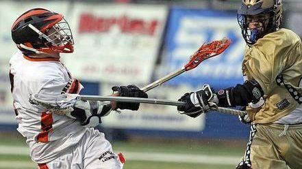 Hicksville's Joey Leonard fires the game-winning goal in