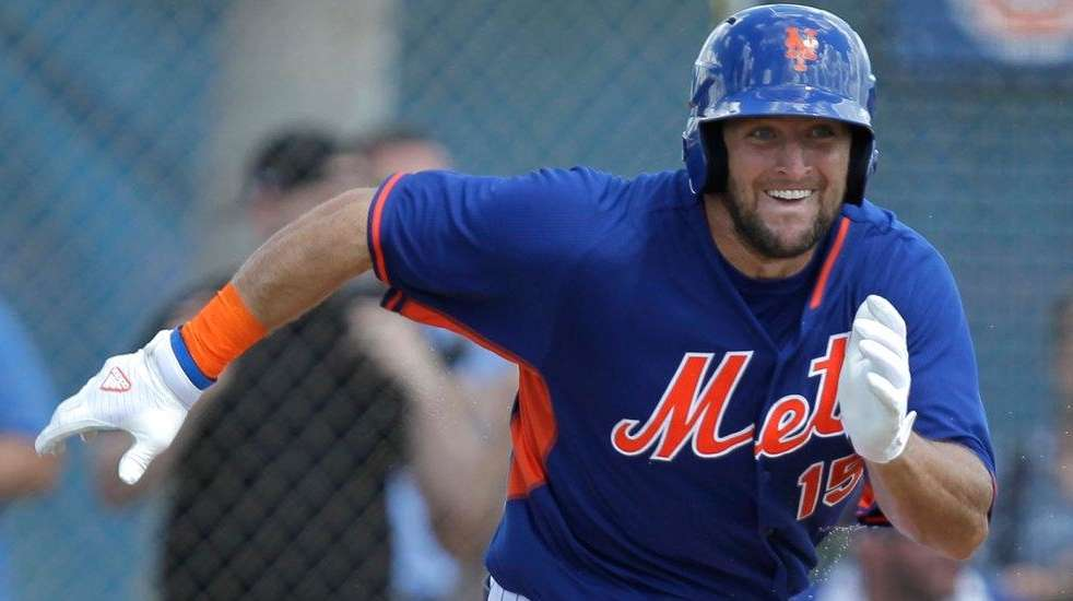 Amazing Mets Tim Tebow Baseball Journey Heads To The Arizona Fall League Short Hairstyles For Black Women Fulllsitofus