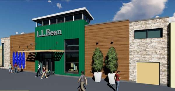 L.L.Bean will open its first store on