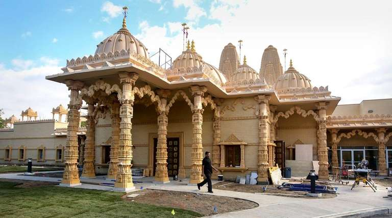 The BAPS Hindu temple in Melville, which is