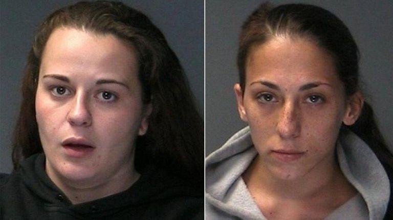 Suffolk police arrested Gianna Figliolia, 25, of Sound