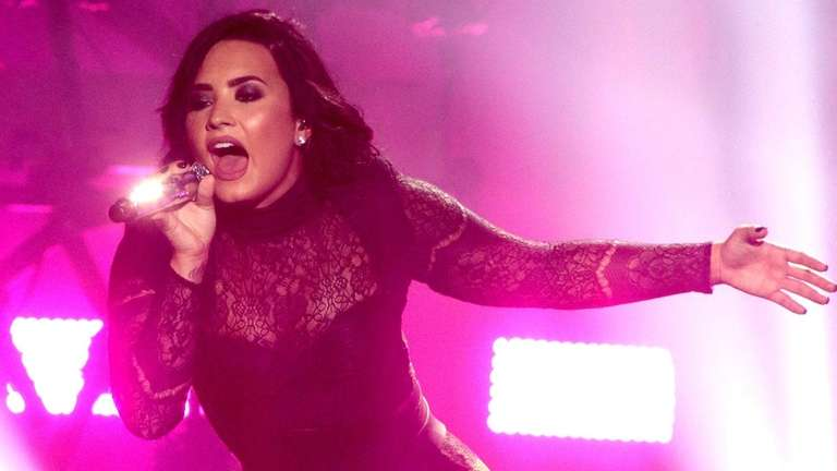 Demi Lovato performs on July 14, 2016, in