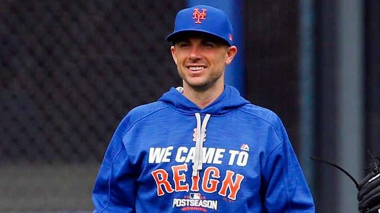 David Wright and Jay Bruce of the New