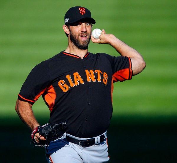 Madison Bumgarner of the San Francisco Giants has
