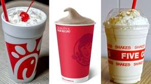 Chick-fil-A, Wendy's, Five Guys and more chain milkshakes