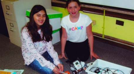 Kidsday reporters Lilia Estrada and Darcy DeBenedittis love