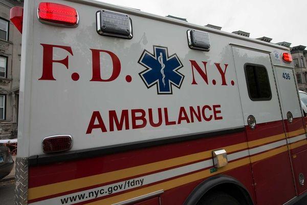 A school bus crash on the Cross Bronx