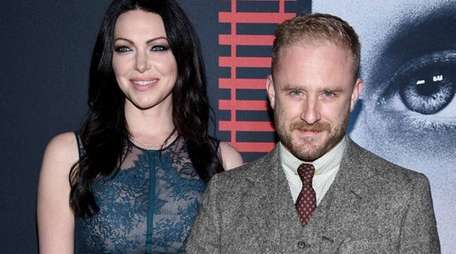 Laura Prepon and Ben Foster at