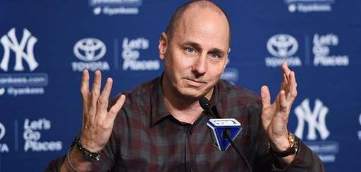 New York Yankees general manager Brian Cashman answers