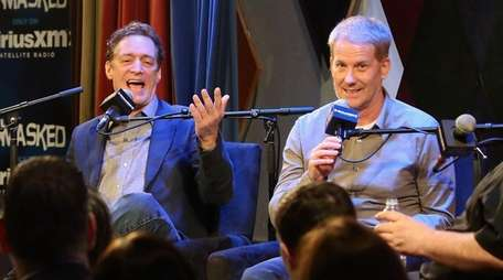 Anthony Cumia, left, and Greg