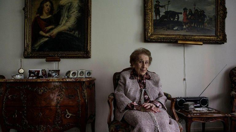 99-year-old Irene Bergman, financial adviser at Stralem &