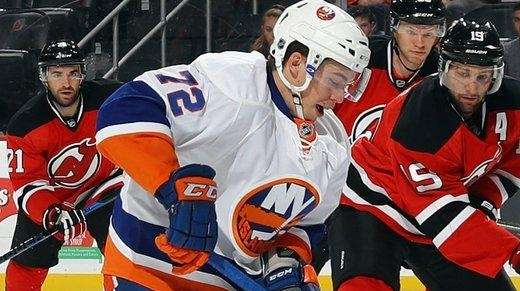Anthony Beauvillier and Michael Dal Colle of the