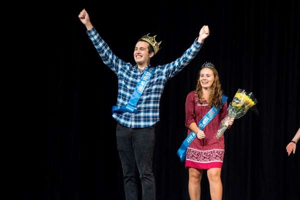 Michael D'Agostino and Shannon Sullivan are crowned Mr.