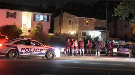 Suffolk police said a suspect from Copiague was