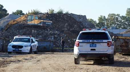 Suffolk County police said a man was struck