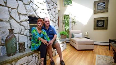 Sadie and Frederick Rienecker at home on Sept.