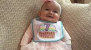 Seven-month-old Makenzie Cadmus of Hauppauge suffers from epidermolysis