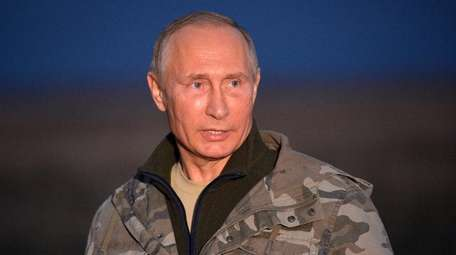 Russian President Vladimir Putin must be deterred.