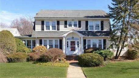 This trade-up house, a Colonial in Rockville Centre,