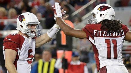 Arizona Cardinals quarterback Drew Stanton (5) and wide