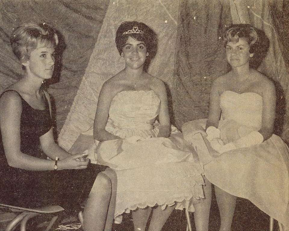 Judy Andrews, (center, known then as Judy Soltan)