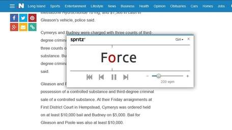 Spritz is an app designed to increase reading