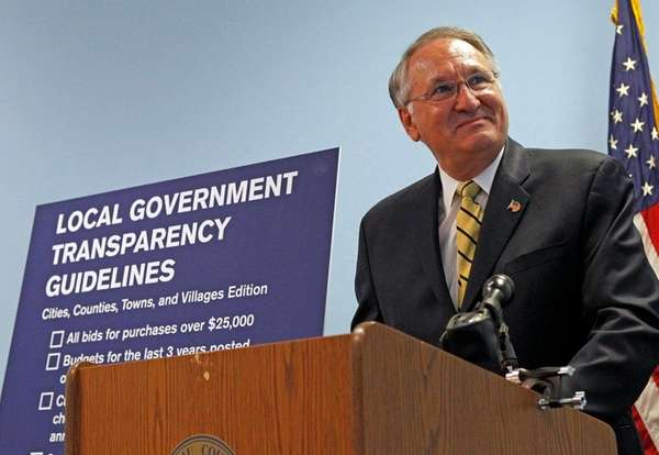 Nassau County Comptroller George Maragos on Oct. 6,