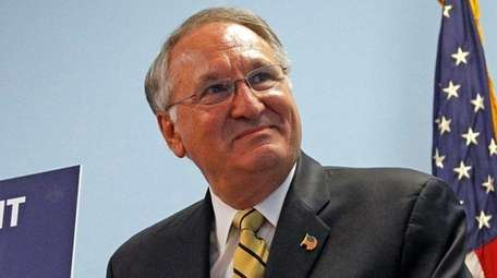 Nassau County Comptroller George Maragos on Oct. 6,