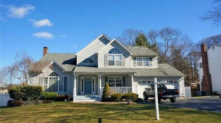 This Ronkonkoma Colonial, listed for $525,000 in October