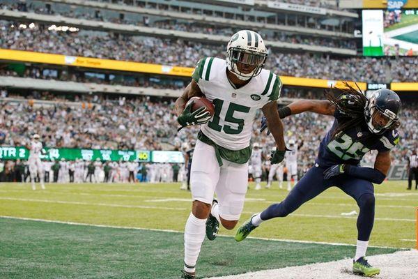 New York Jets wide receiver Brandon Marshall