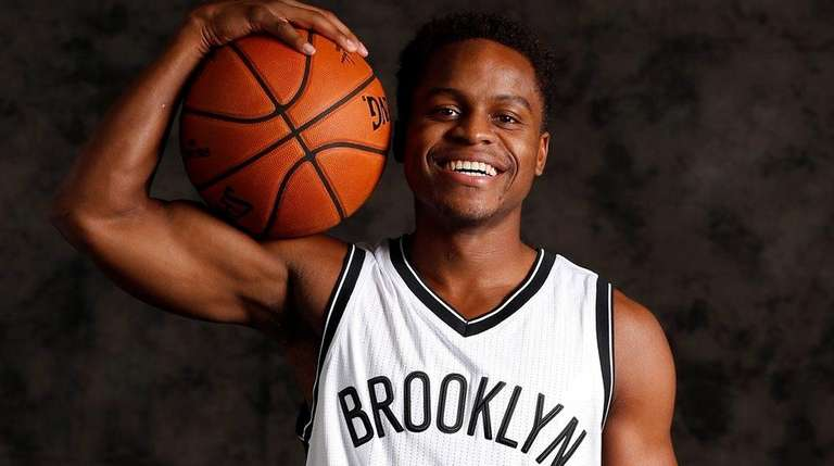 Brooklyn Nets' Kevin Ferrell during media day at