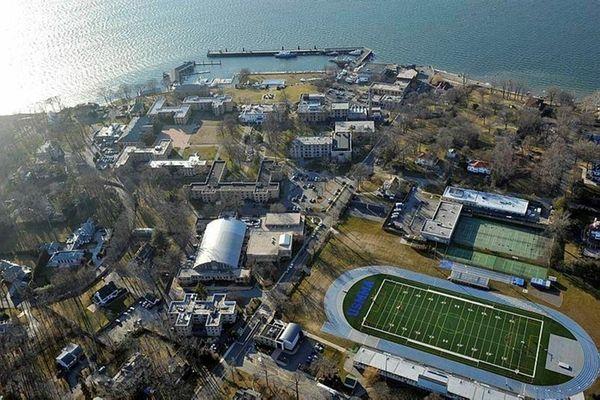 The U.S. Merchant Marine Academy in Kings Point,