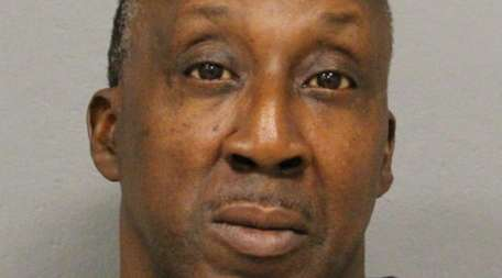 Arnold Padgett, 56, of Uniondale, was arrested Friday,