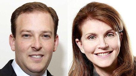 Republican Rep. Lee Zeldin (R-Shirley) and Democratic challenger