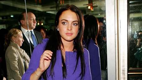 Lindsay Lohan attends an after party for the