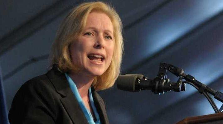 Sen. Kirsten Gillibrand condemned Donald Trump on Oct.