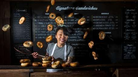 Chef Dianna Daoheung of Black Seed Bagles in