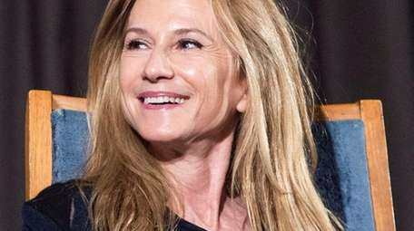 Actress Holly Hunter speaks with film critic Thelma